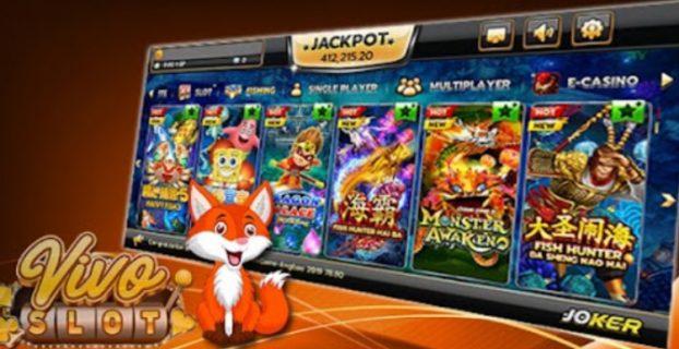 Main Game Slot di Vivoslot Deposit via LinkAja